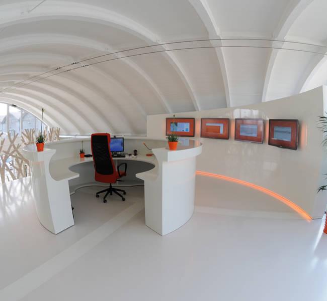 Immagine della zona desk