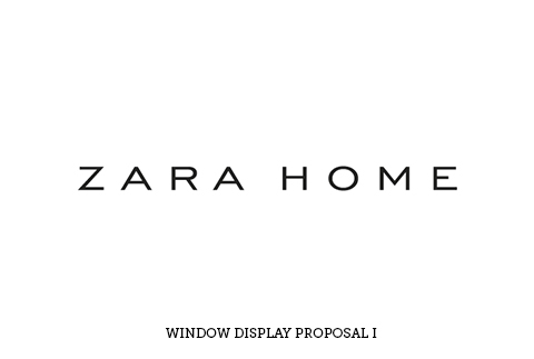 ZARA HOME WINDOW DISPLAY